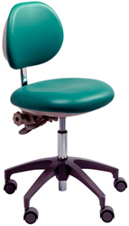 photo of a dentist stool